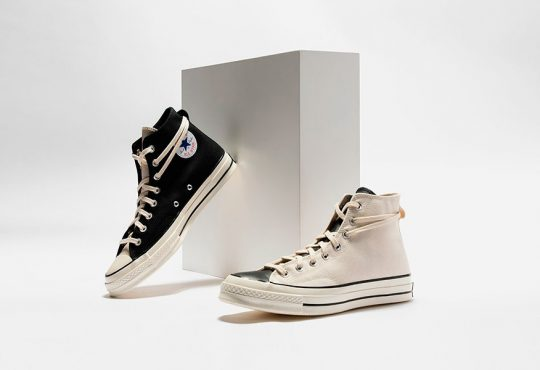 街头品牌Fear of God ESSENTIALS x Converse Chuck 70 联名鞋款插图