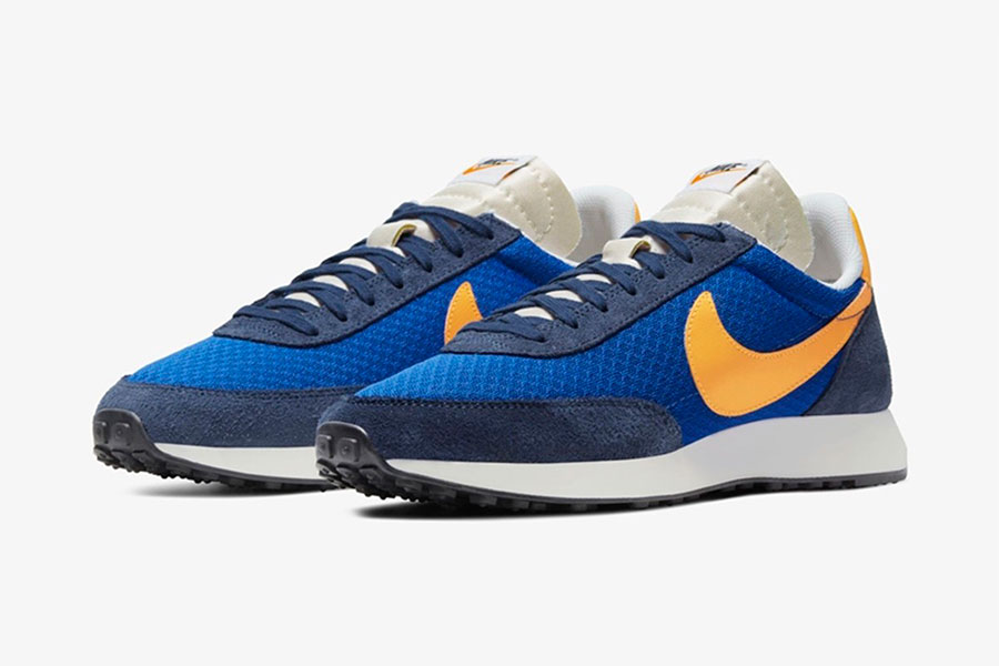 Nike 复古跑鞋 Air Tailwind 79 全新 Game Royal/Laser Orange 配色鞋款插图