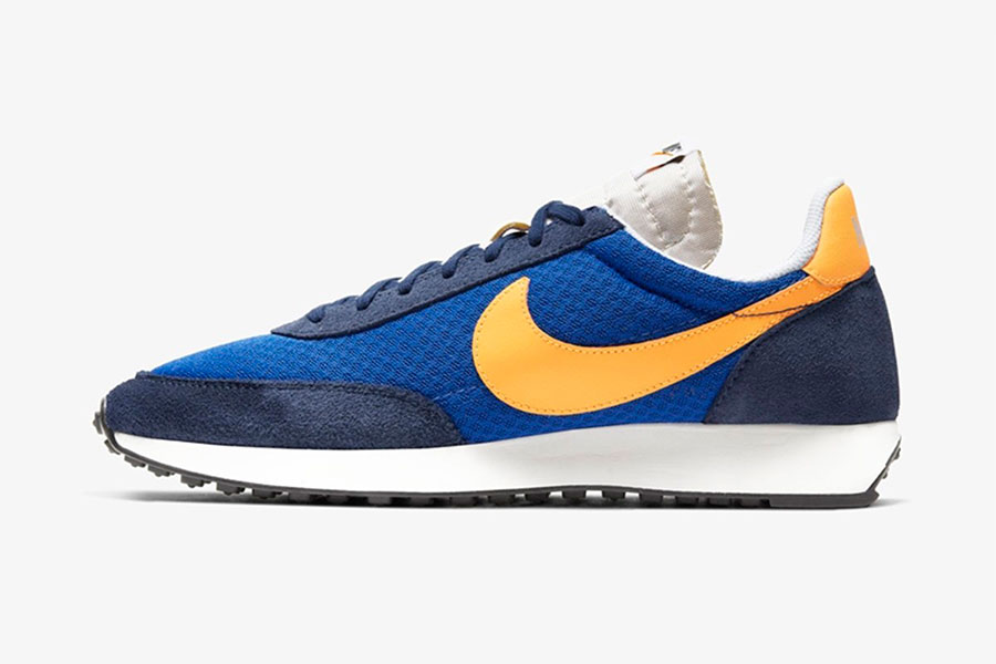 Nike 复古跑鞋 Air Tailwind 79 全新 Game Royal/Laser Orange 配色鞋款插图(1)
