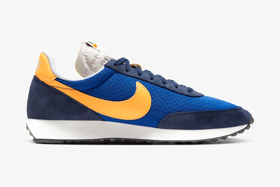 Nike 复古跑鞋 Air Tailwind 79 全新 Game Royal/Laser Orange 配色鞋款插图(2)