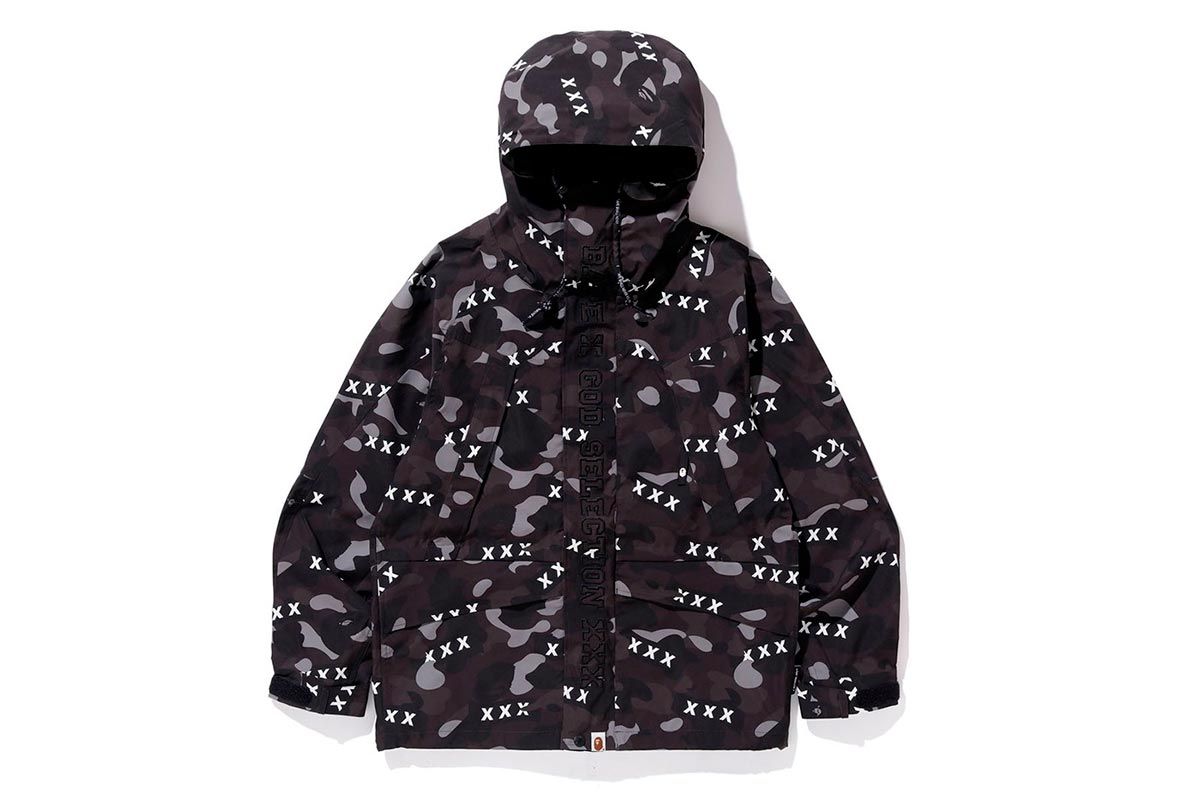 A BATHING APE® x GOD SELECTION XXX 推出全新联名系列插图