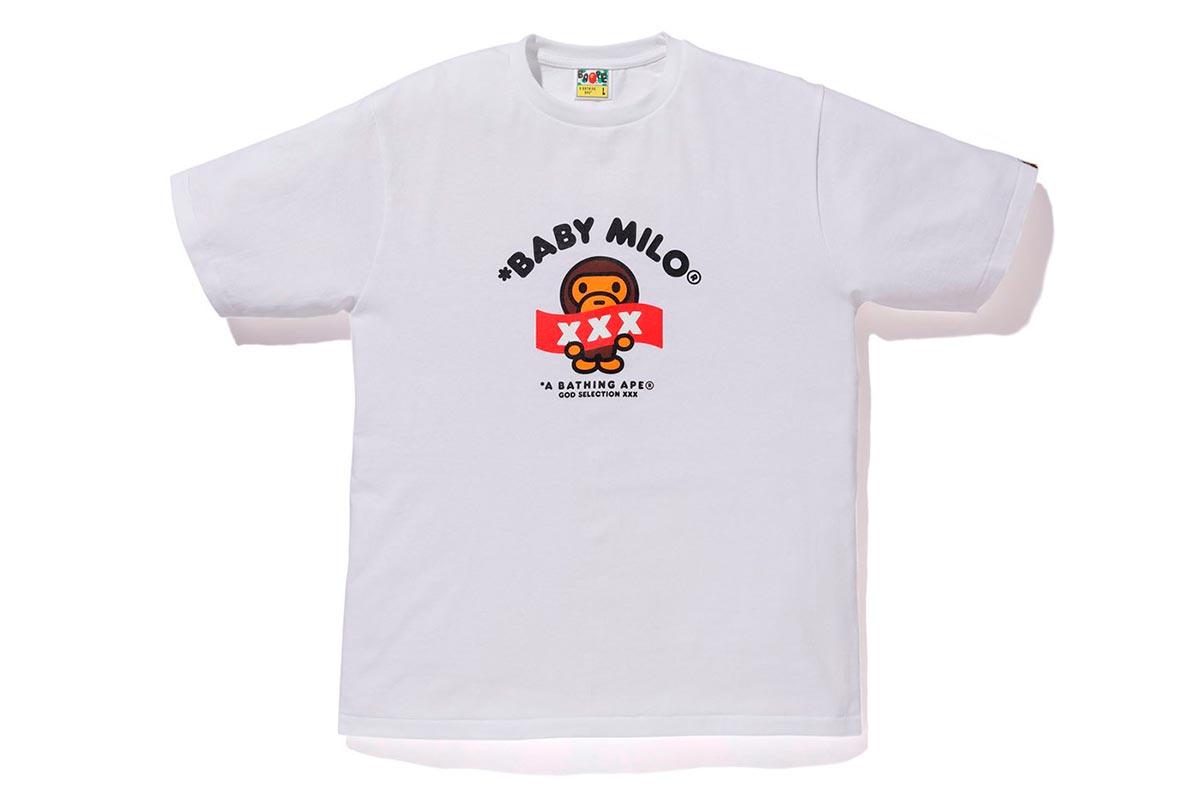 A BATHING APE® x GOD SELECTION XXX 推出全新联名系列插图(10)