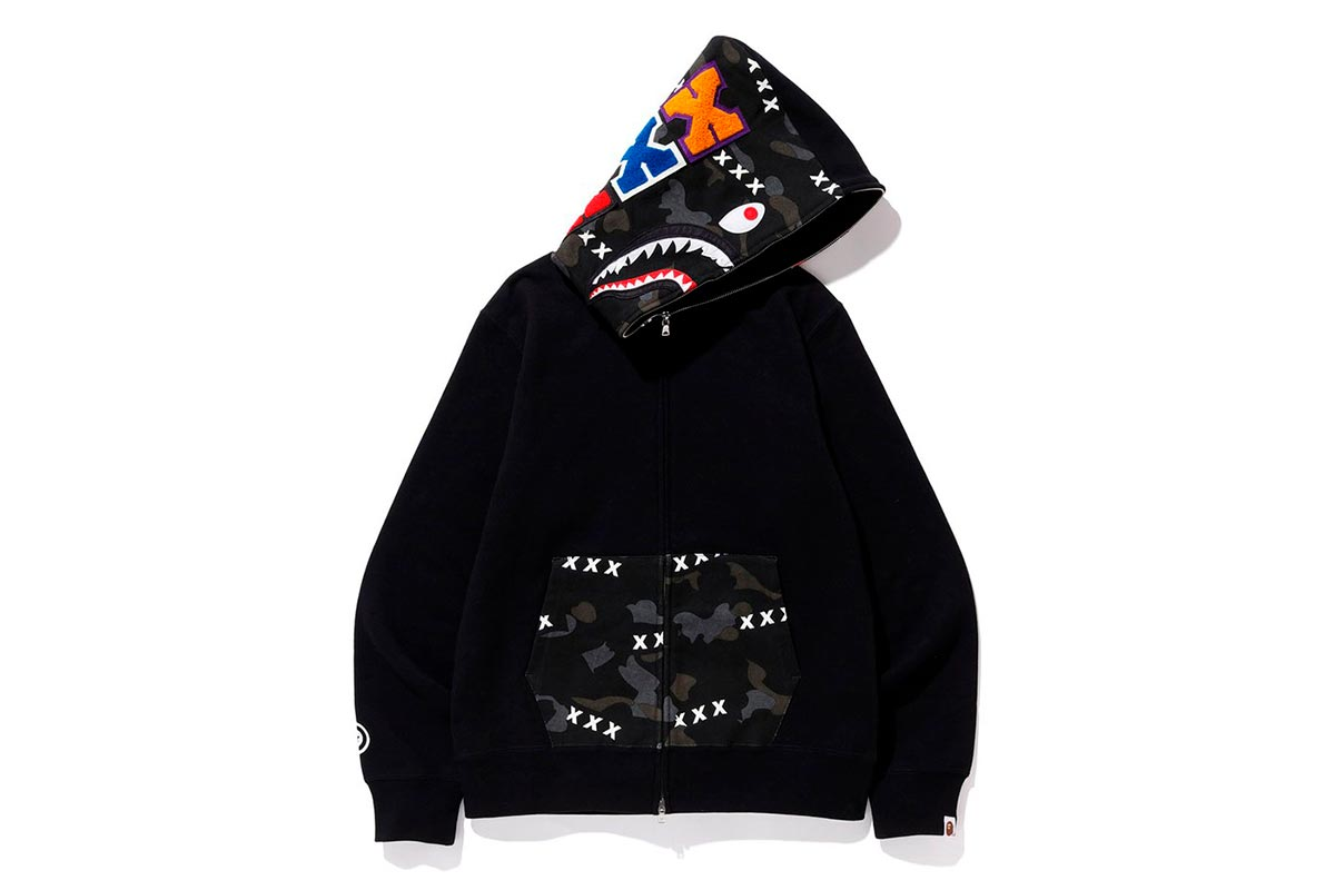 A BATHING APE® x GOD SELECTION XXX 推出全新联名系列插图(1)