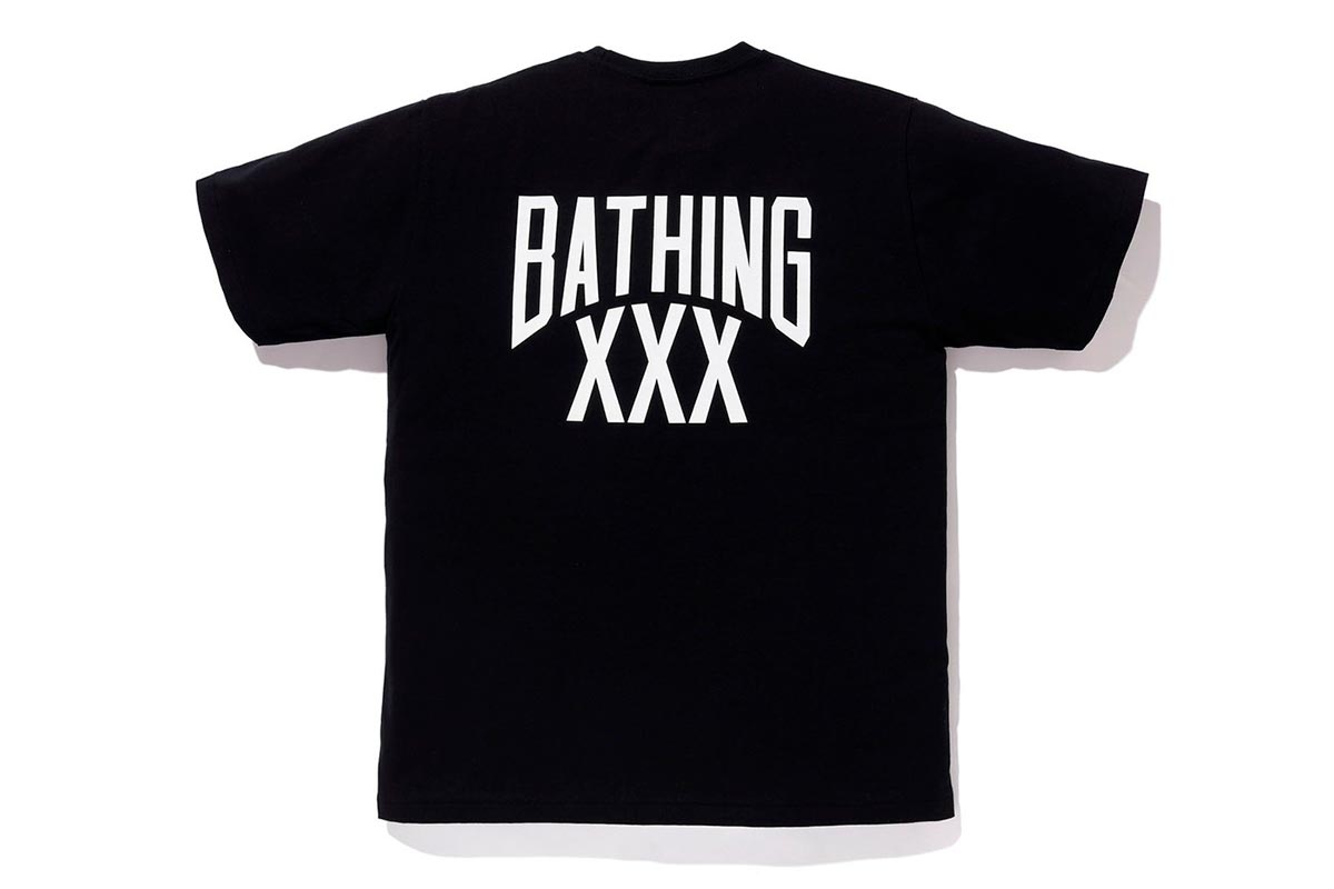 A BATHING APE® x GOD SELECTION XXX 推出全新联名系列插图(5)