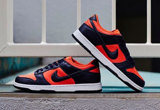 Nike Dunk Low SP 发布全新 Champ Colors 冠军配色鞋款插图