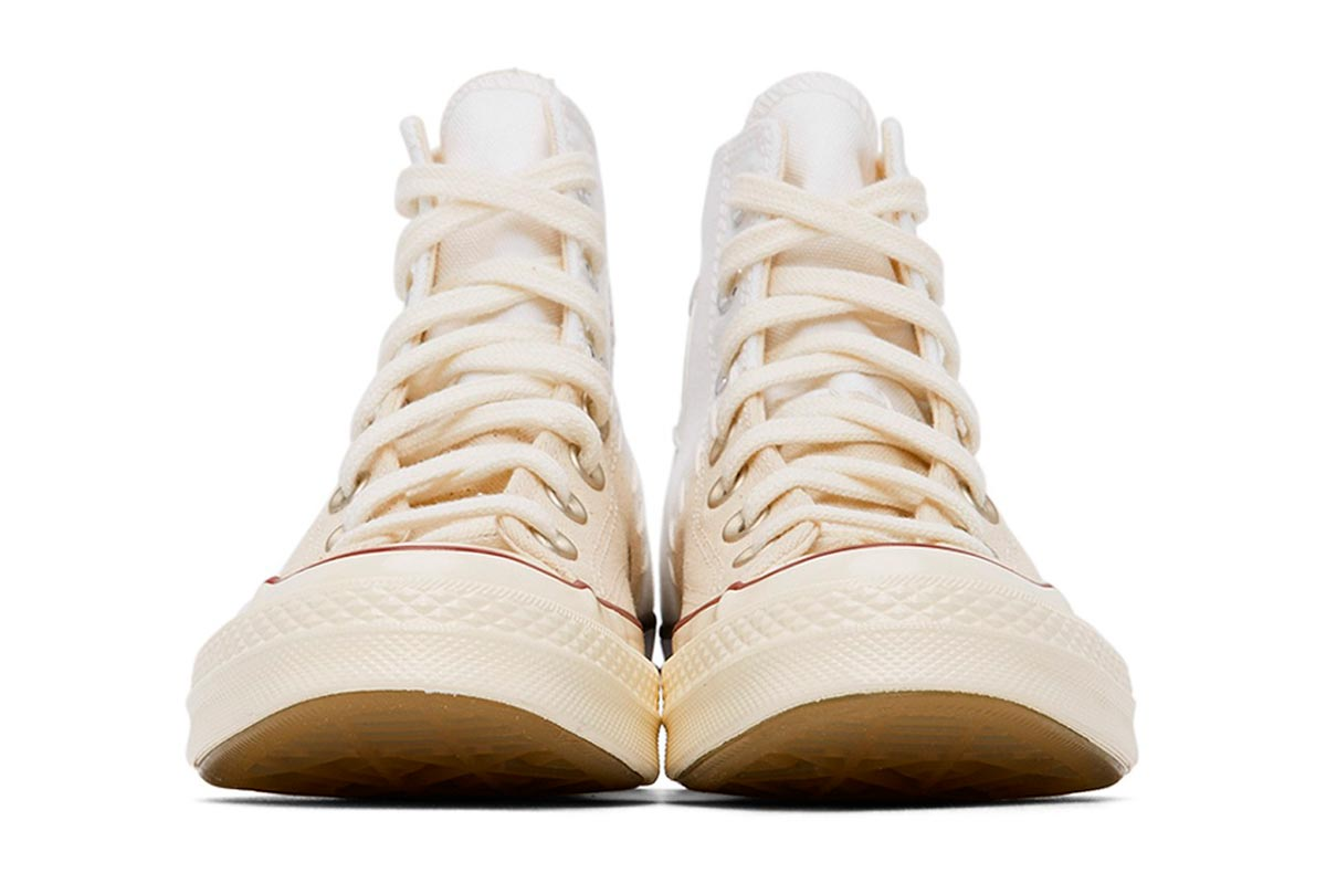 Converse 全新拼接设计鞋款 White & Off-White Reconstructed Chuck 70插图(2)