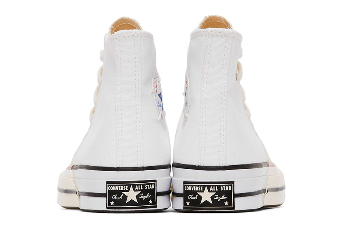 Converse 全新拼接设计鞋款 White & Off-White Reconstructed Chuck 70插图(3)