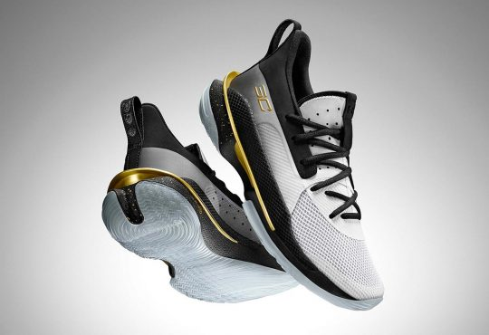 Under Armour Curry 7 全新 FOR THE GAME 配色鞋款618天猫旗舰店首发插图