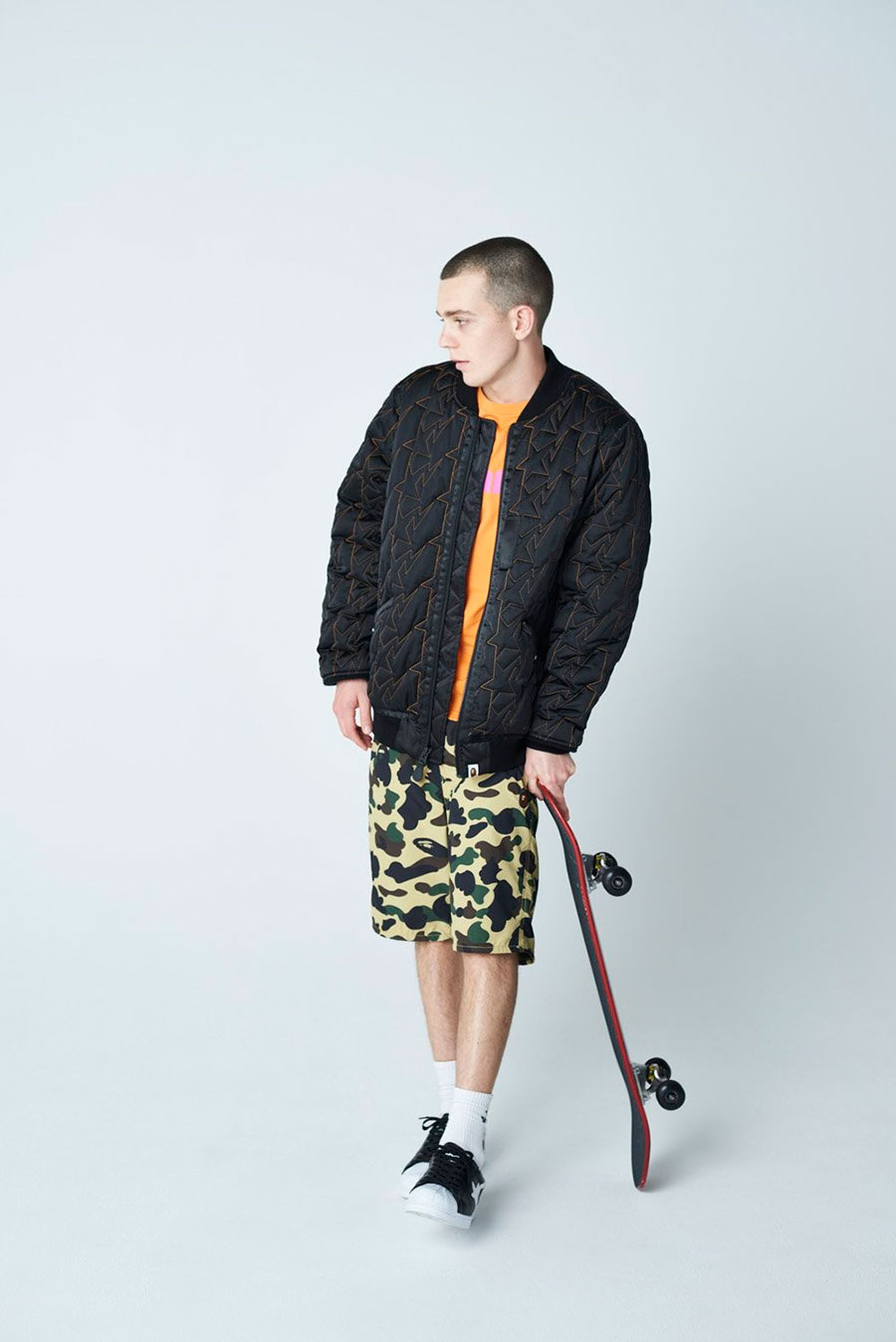 潮牌 A BATHING APE® 发布 2020 最新秋冬男装搭配造型 Lookbook插图(18)