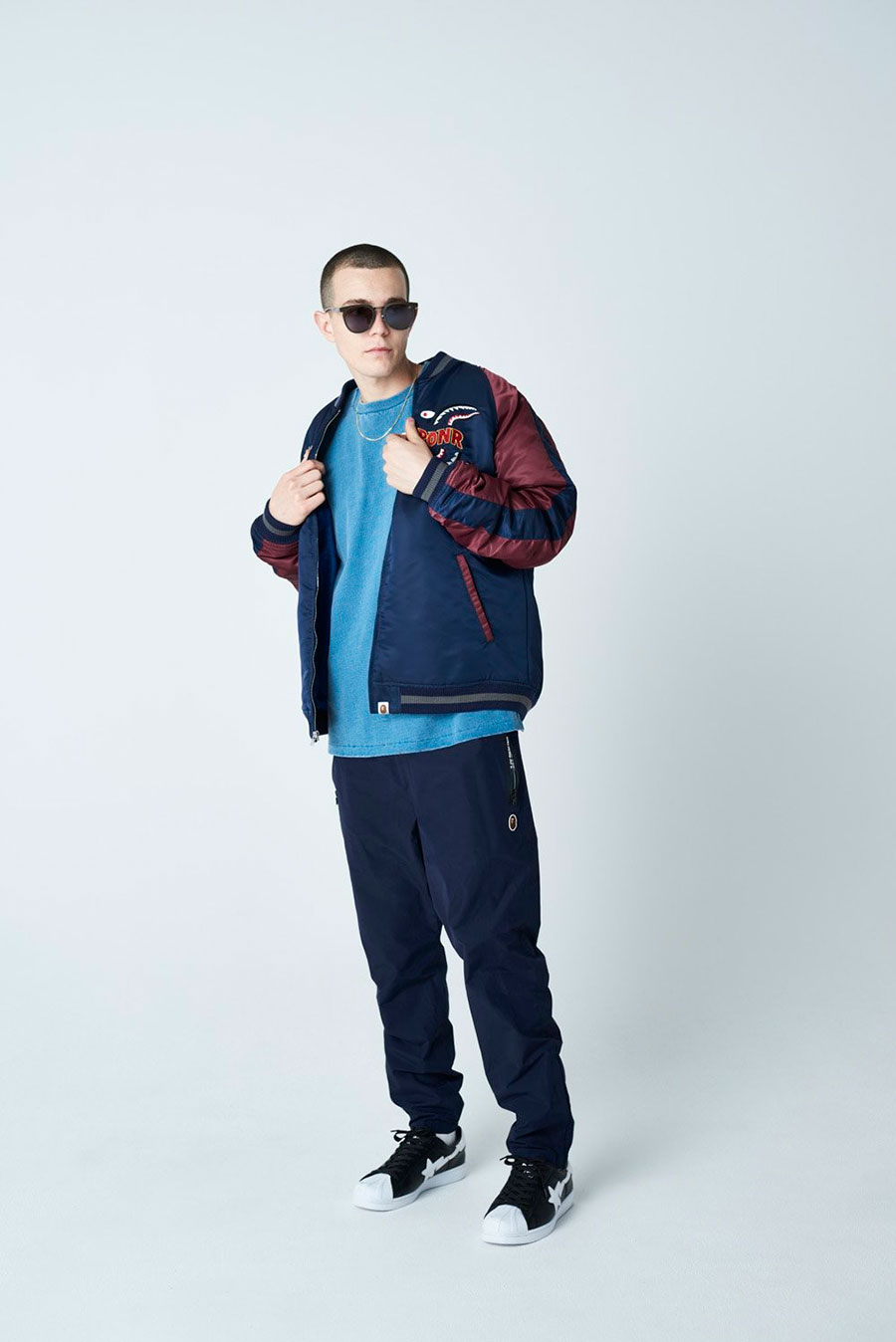 潮牌 A BATHING APE® 发布 2020 最新秋冬男装搭配造型 Lookbook插图(3)