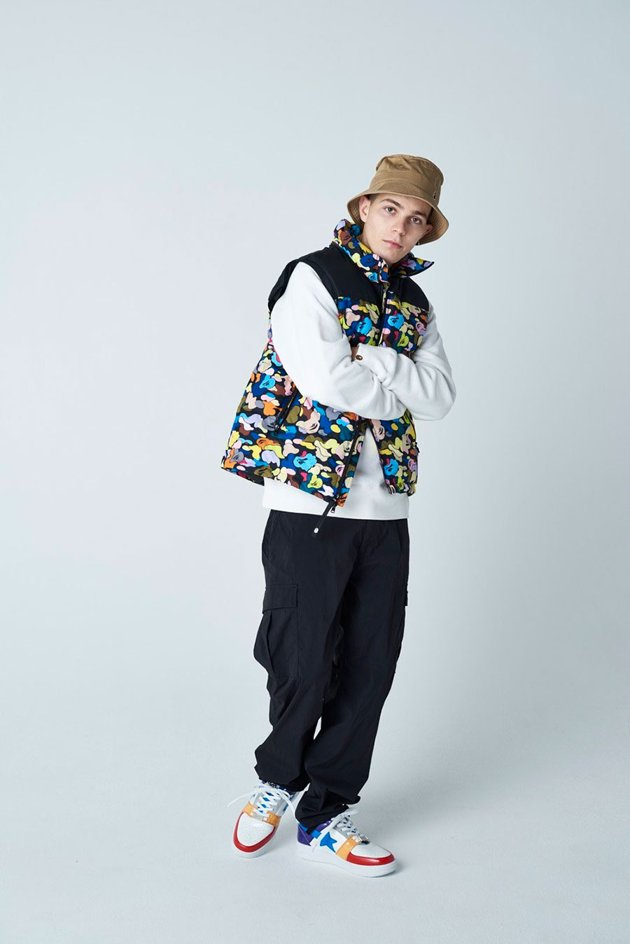 潮牌 A BATHING APE® 发布 2020 最新秋冬男装搭配造型 Lookbook插图(7)