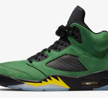 Air Jordan 5 Retro SE 【Apple Green】苹果绿配色鞋款插图