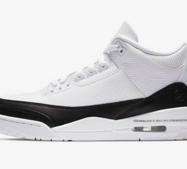 Air Jordan 3 Retro SP x Fragment Design 联名 wihte 配色鞋款插图