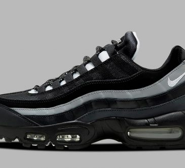 Nike Air Max 95 Essential 全新适合秋冬季「黑白灰」配色鞋款插图