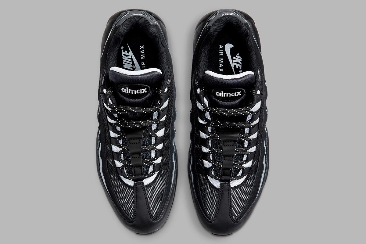 Nike Air Max 95 Essential 全新适合秋冬季「黑白灰」配色鞋款插图2