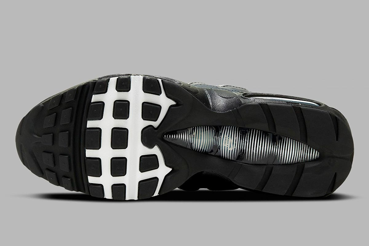 Nike Air Max 95 Essential 全新适合秋冬季「黑白灰」配色鞋款插图4