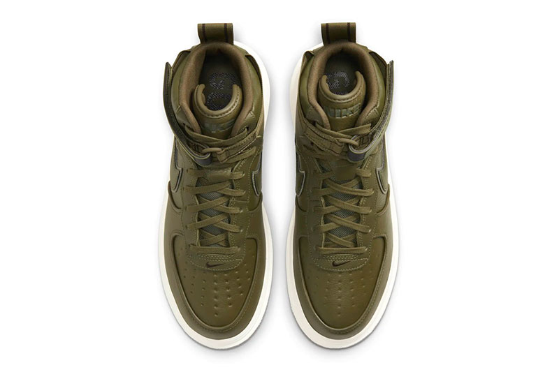 Nike Air Force 1 Boot GORE-TEX 全新两款「Wheat」和「Olive」配色插图6